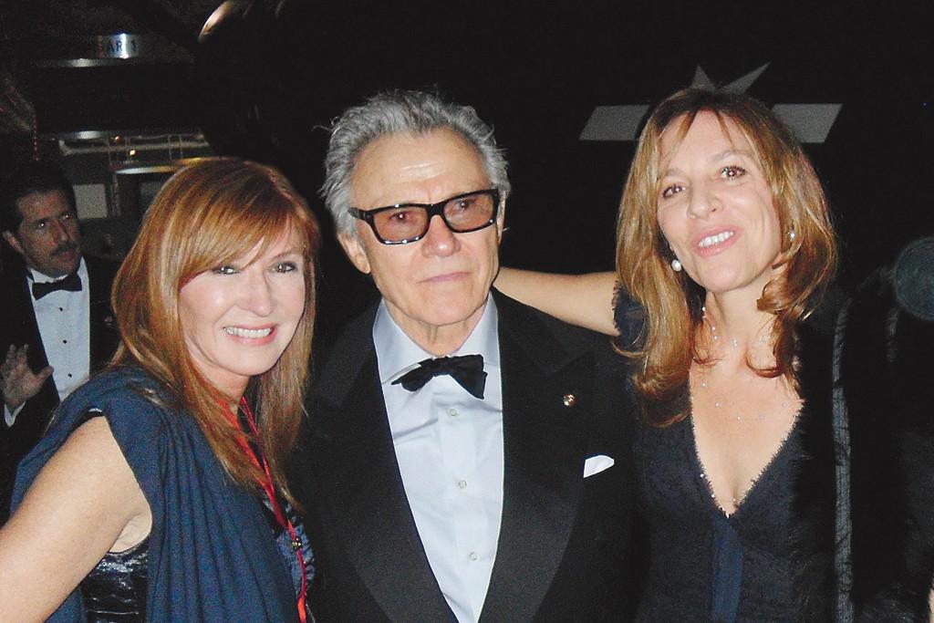 Nicole Miller, Harvey Keitel and Daphna Kastner.