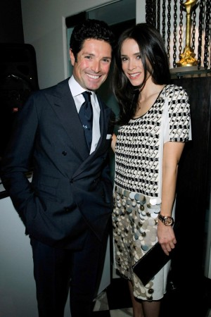 Matteo Marzotto and Abigail Spencer