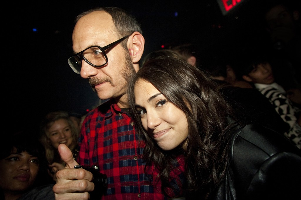 Terry Richardson and Audrey Gelman