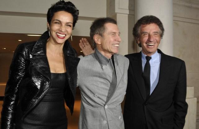 Farida Khelfa, Jean-Paul Goude and Jack Lang