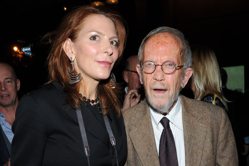 Julia Reyes Taubman and Elmore Leonard