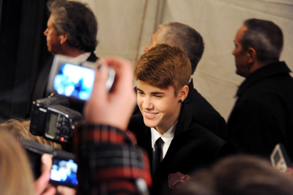 Justin Bieber in Dolce & Gabbana.