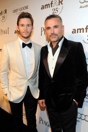Ryan Kwanten with Bernardo Rojo