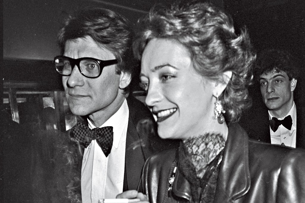 Yves Saint Laurent and Loulou de la Falaise, circa 1978.