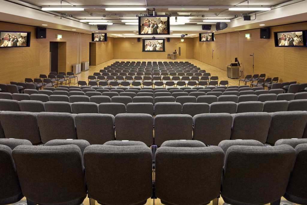 The Lecture Theatre in Central St Martin's, Kings Cross Central.