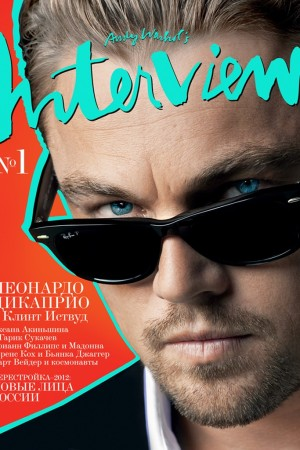 Leonardo DiCaprio on the cover of Interview Magazine.