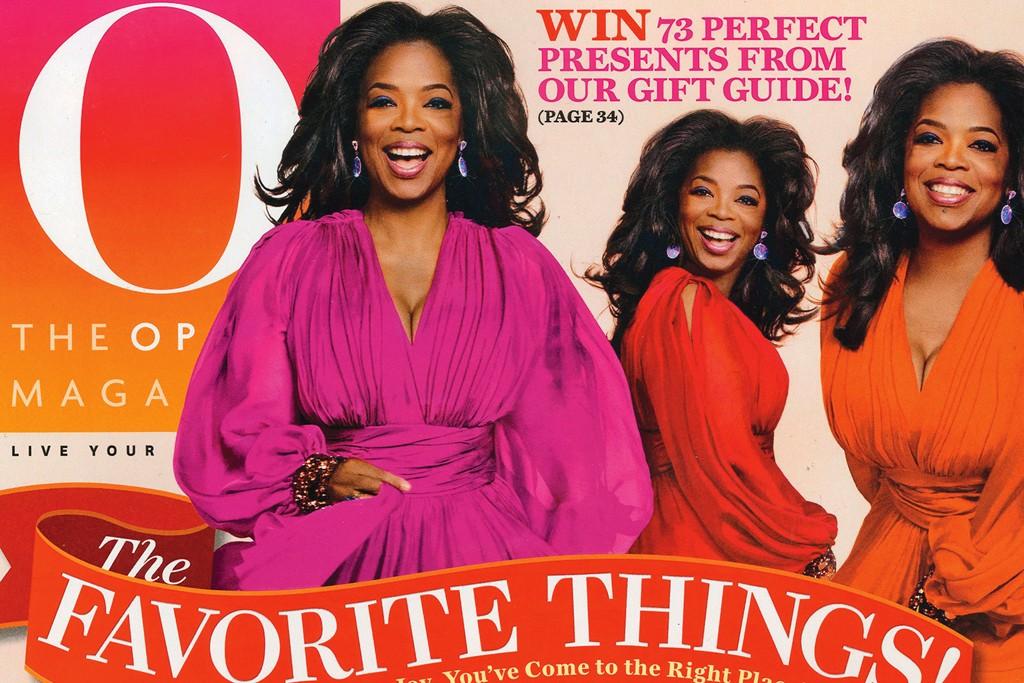 The December cover of Oprah.