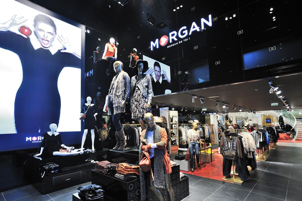 A view of the Morgan flagship store in Paris.