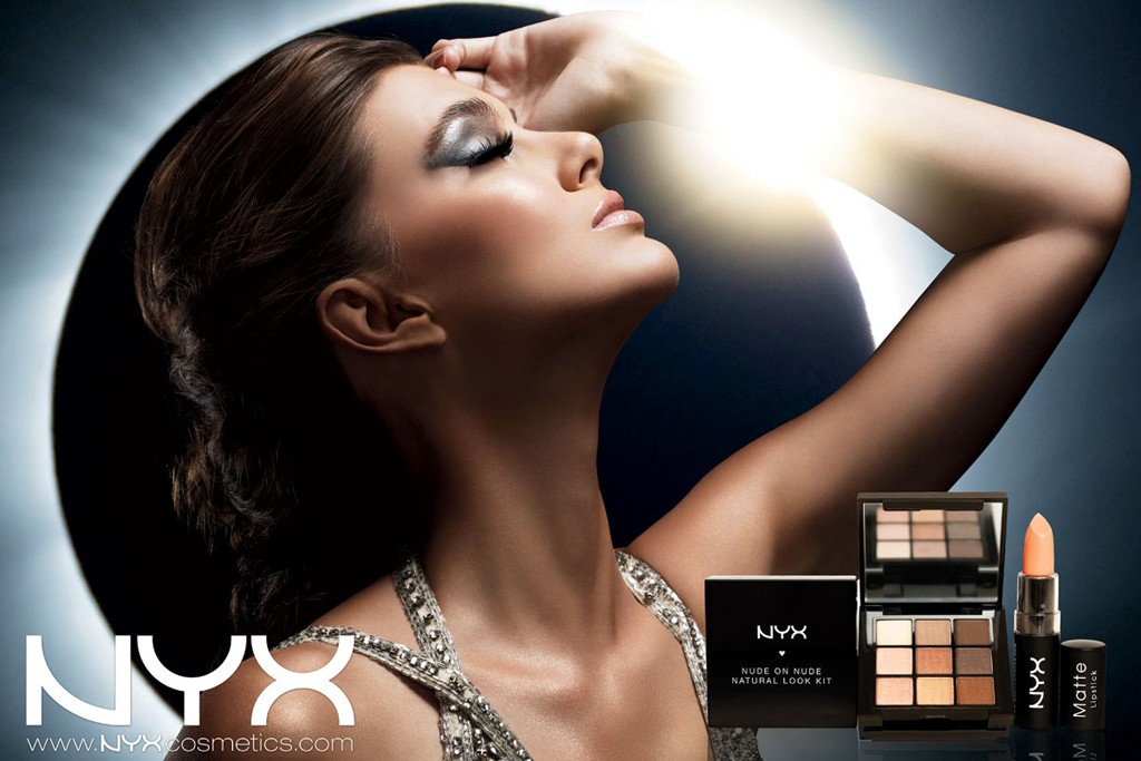 An ad visual from NYX Cosmetics.