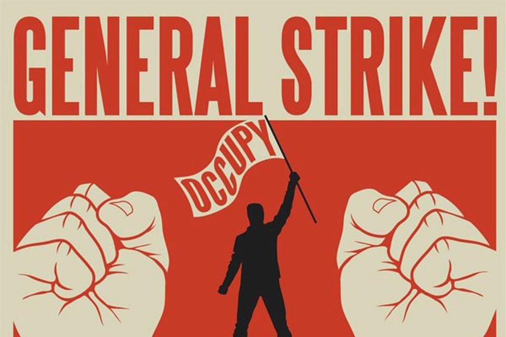 Occupy Oakland general strike flyer.