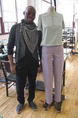 Jefferson Musanda's activewear-inspired design.
