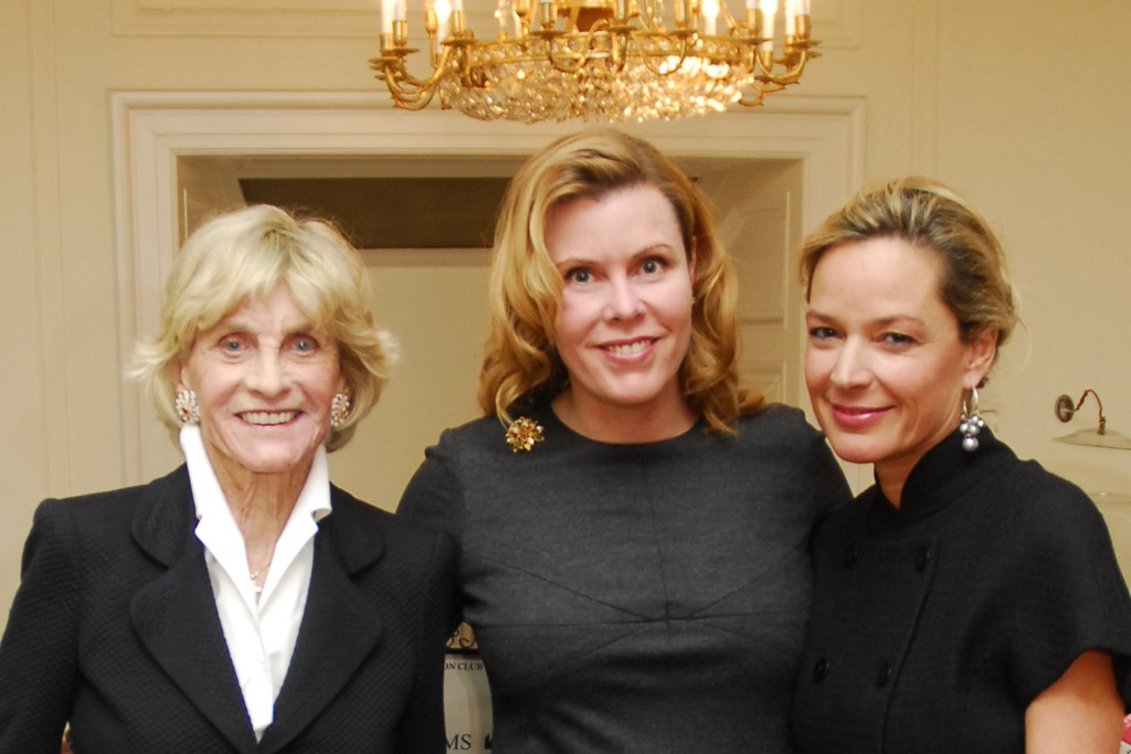 Jean Kennedy Smith, Amanda Smith Hood and Mariella Trager.