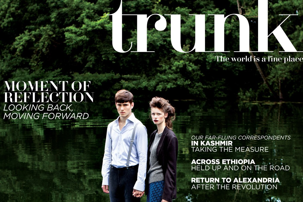 The cover of the new issue of Trunk.