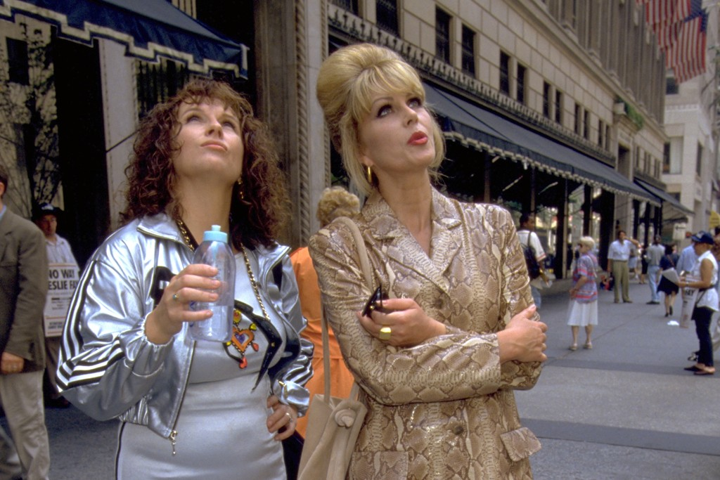 From the third season: Lumley in Betty Jackson.