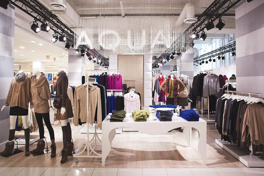 The Aqua private label area.
