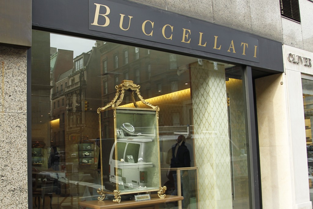 Buccellati's New York store on Madison Avenue.