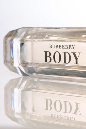 The Burberry Body bottle.