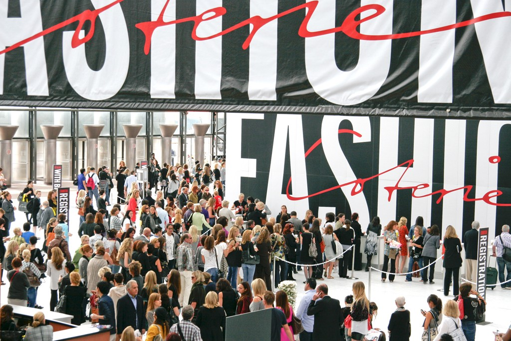 A view of Fashion Coterie.