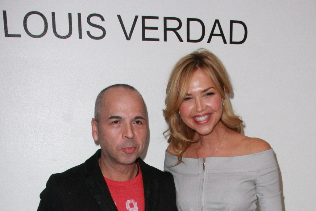 Louis Verdad and Arielle Kebbel