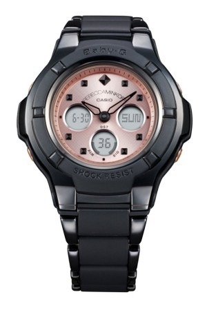 The Rebecca Minkoff and Baby-G watch.