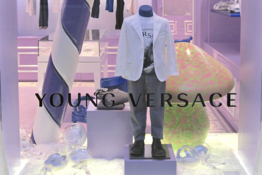 The Young Versace boutique.