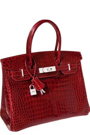 A record-setting Hermès diamond Birkin bag