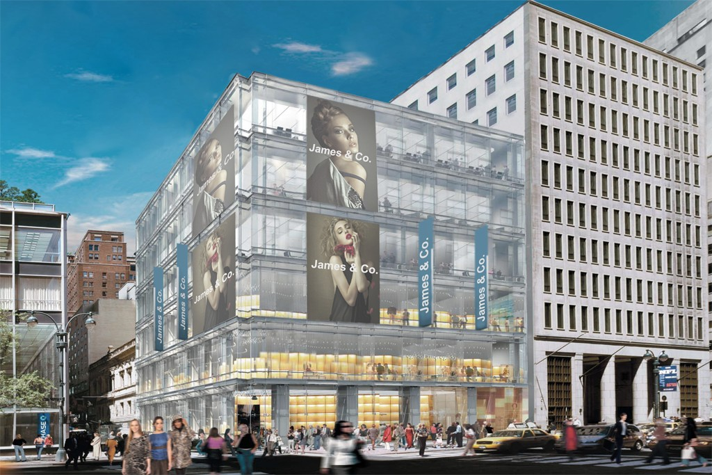 A rendering of 520 Fifth.