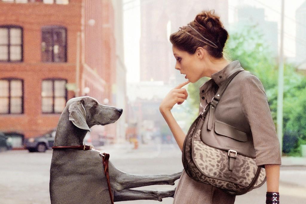 Longchamp's advertising for spring.