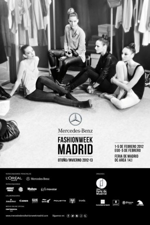 A visual for Madrid's Fashion Week in collaboration with Mercedes-Benz.