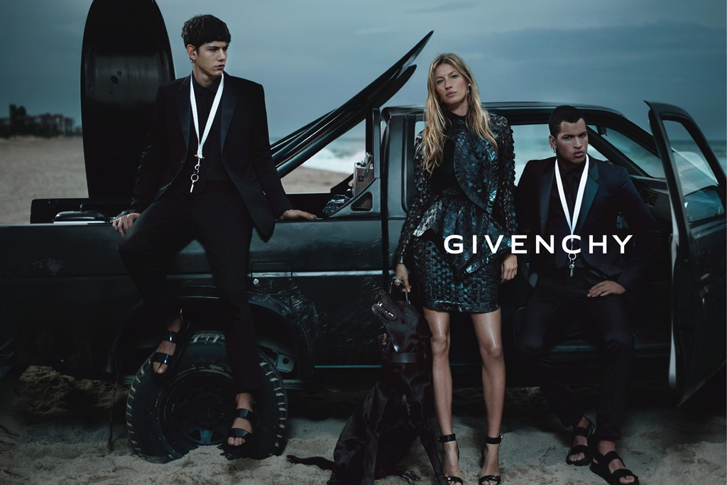 An ad from Givenchy's spring-summer 2012 campaign.