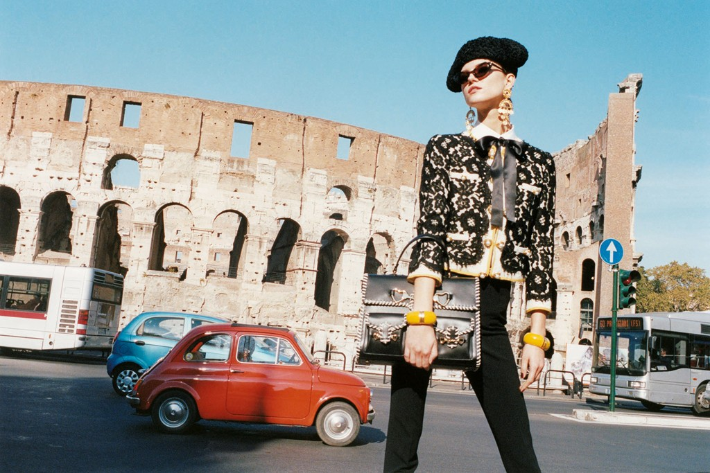 Moschino takes to the streets of Rome.