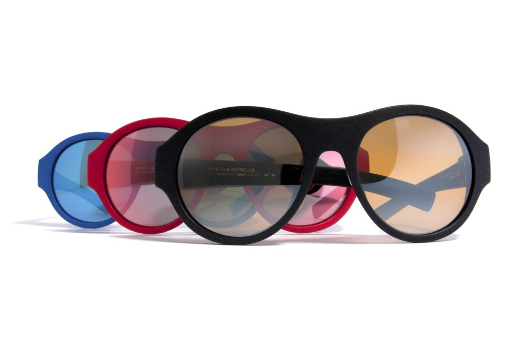 A look at Moncler's one-off eyewear collection.