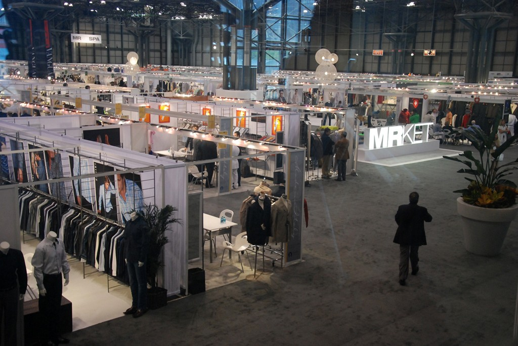 A view of the the MRket show.