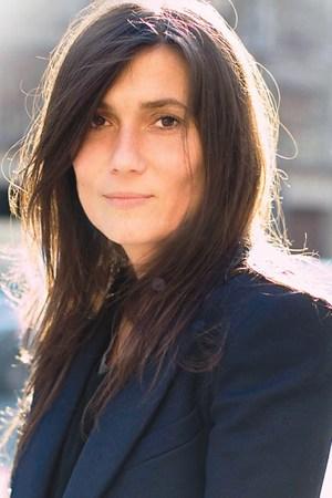 Portrait of Vogue Paris editor Emmanuelle Alt