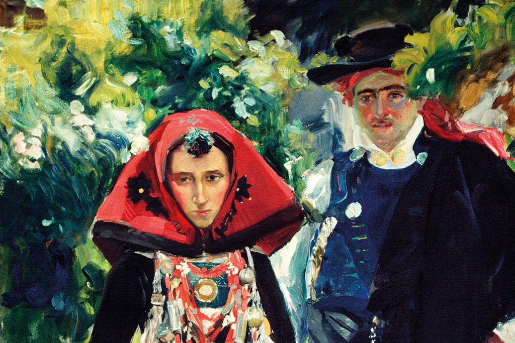 "Sorolla's ""Couple from Salamanca,"" 1912."