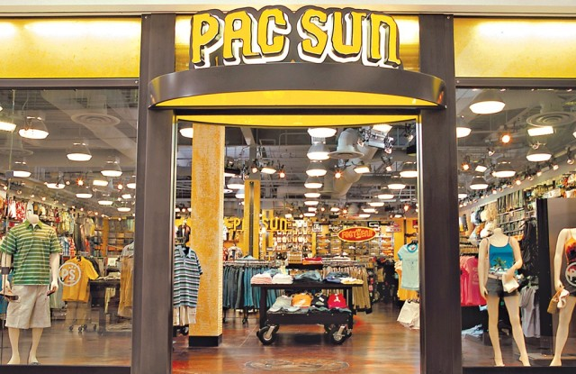 The PacSun store