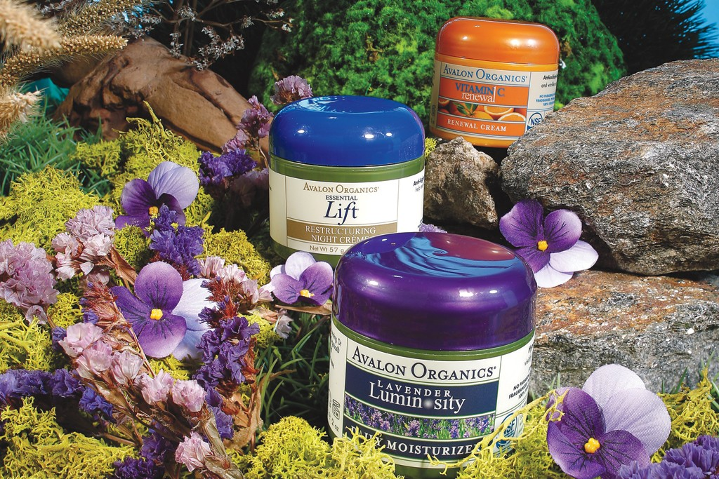 Avalon Organics products.