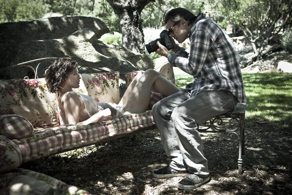 Mario Sorrenti shoots Milla Jovovich for the 2012 Pirelli Calendar