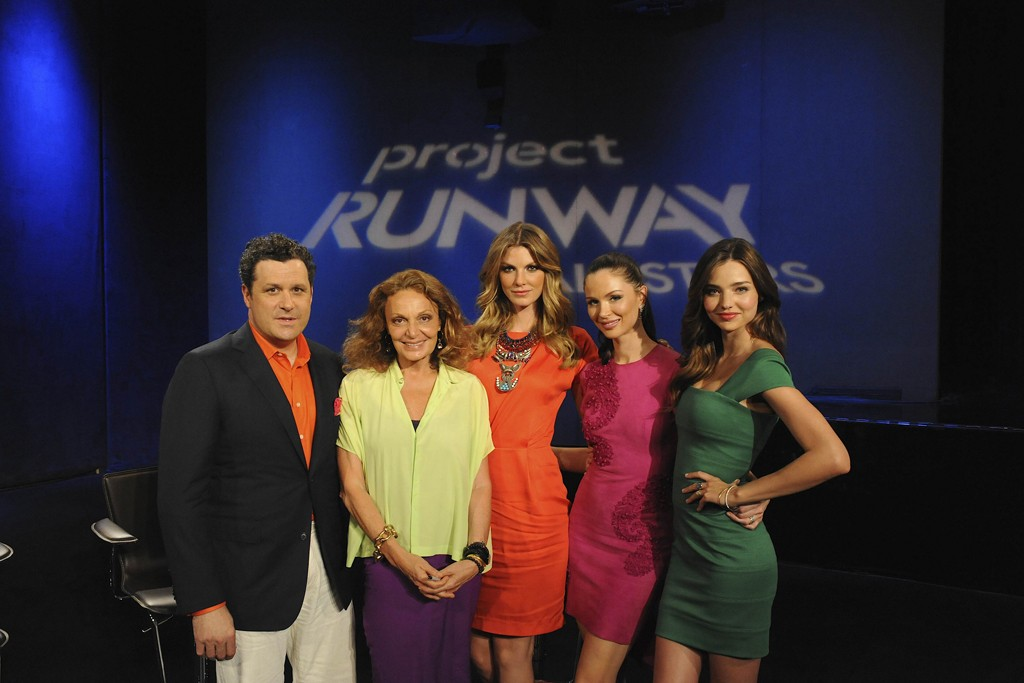 """The judges of """"Project Runway All Stars."""""""