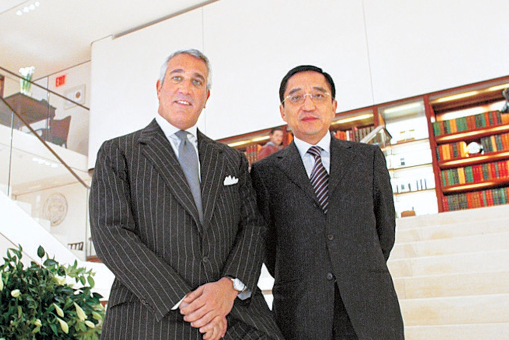 Lawrence Stroll and Silas Chou