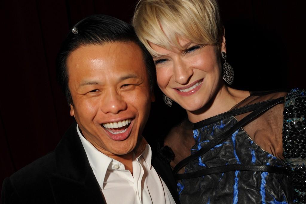 Zang Toi and Julie Macklowe in Rodarte