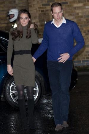 The Duchess and Duke of Cambridge.