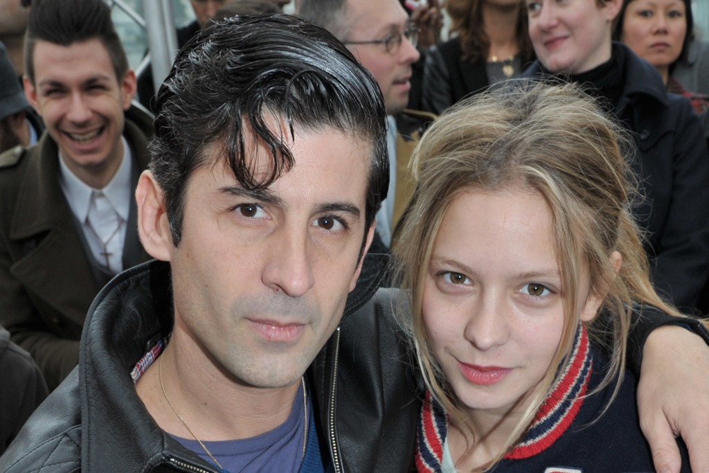 Andre Saraiva and Annabelle Dexter-Jones