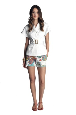 A look from the Banana Republic Trina Turk collection.