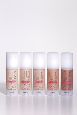 Items from the Hello Flawless Oxygen Wow lineup.