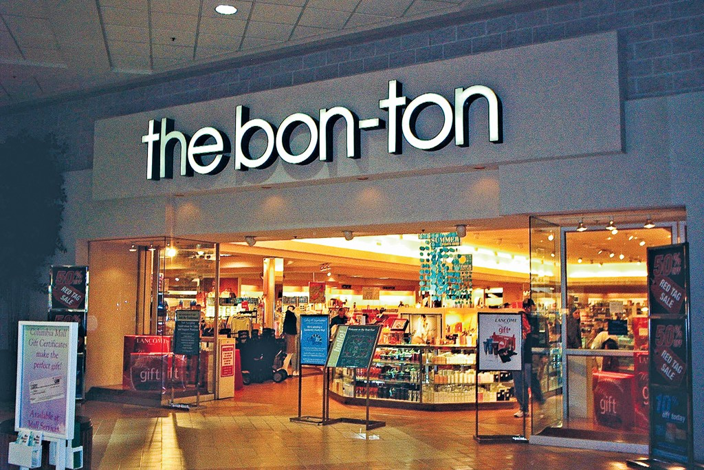 A view of the Bon-Ton store.