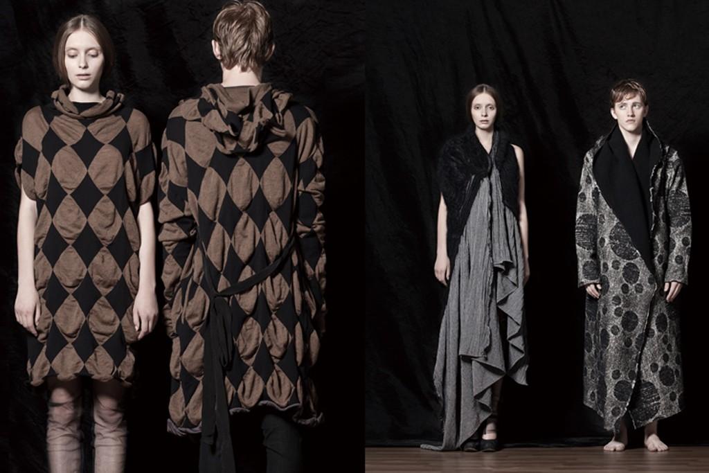 Designs from Uma Wang.