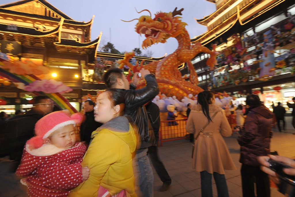 Chinese New Year in Shanghai.