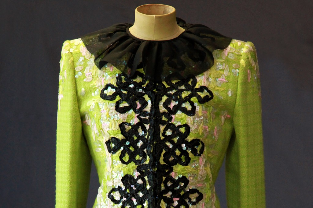 A Christian Lacroix dress from 1994