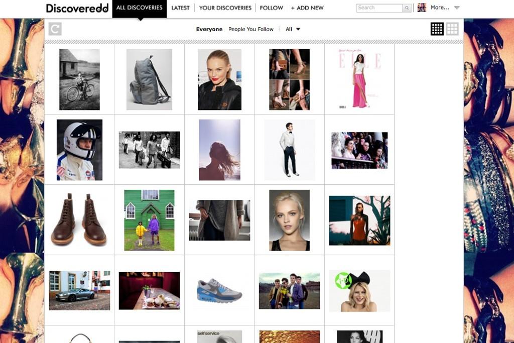 Social discovery platform Discoveredd.com.